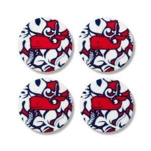Vineyard Vines for Target Hibiscus Coasters